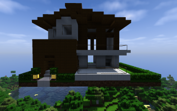 Small modern house #1 (unfurnished)