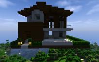 Small modern house #1 (unfurnished)