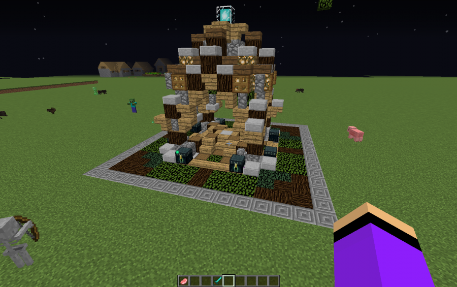 minecraft server world spawn point