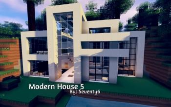Modern house 5 minecraft server