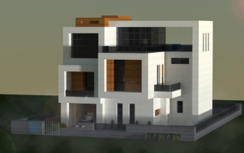 Small modern house