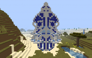 Wool/Quartz Castle Tower