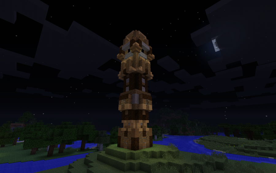 Wooden Tower Creation 8361