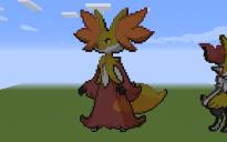 Delphox Pixel Art