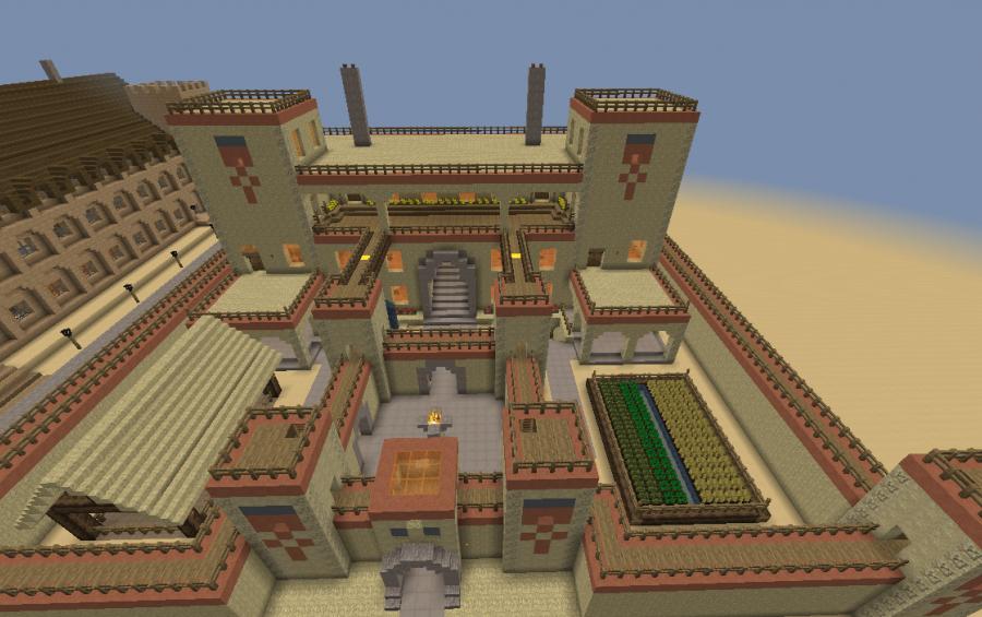 Desert Fortress Creation 8446