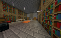 Stronghold Library turned into a house