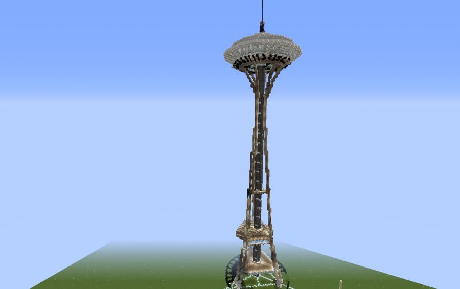 Seattle Space Needle creation 8466