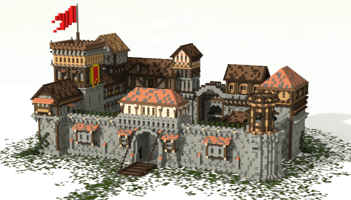 minecraft medieval fortress book download