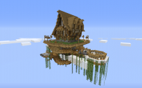 House in a floating island