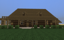 small log house