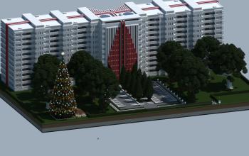 Large Apartment Building
