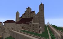 Huge Walled Castle