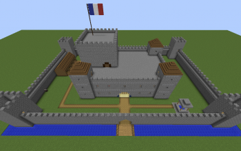 Medieval Fortified Castle