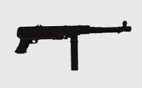 MP40 submachine gun