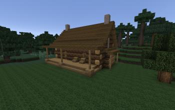 Early Log Cabin