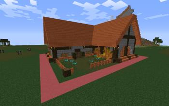 Simple medieval house