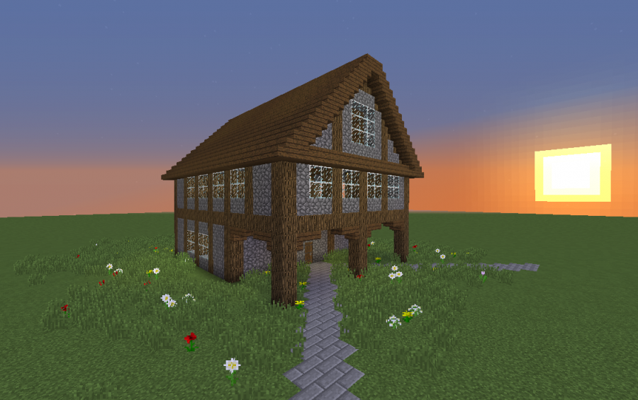 Small Medieval House  Creation  8680