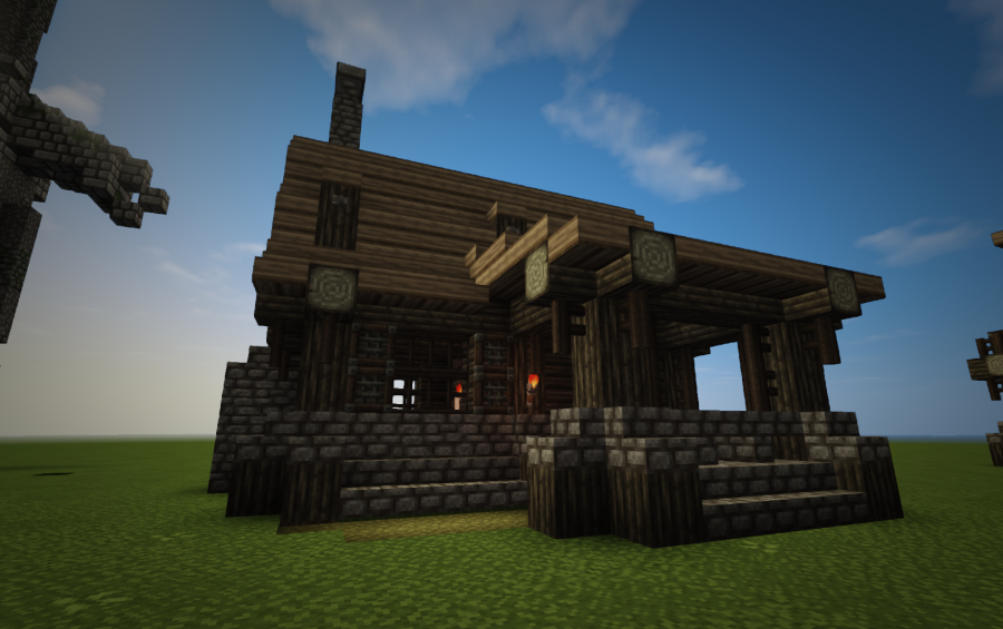 Small Medieval House Creation 8704