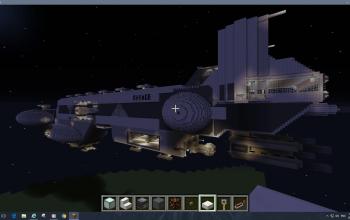 The Ravage Anti-Capital class ship