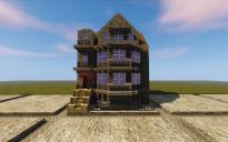 14x14 British Town House