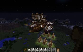flying boat (empty)