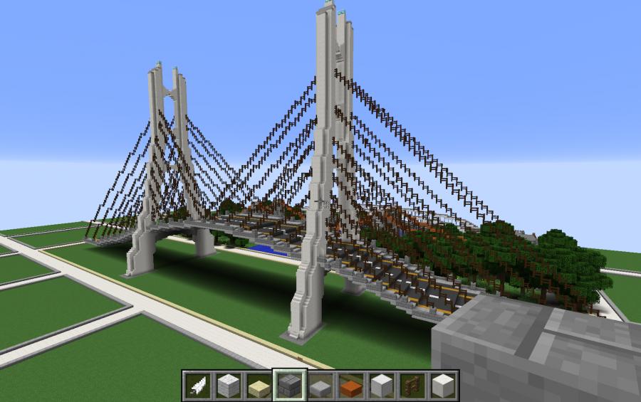 Cable-Sta Bridge, creation #8918 on