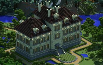 Bk's Tintin mansion