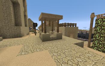 Village Well 3x3 Sandstone