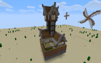 Windmill house with basement
