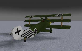 Fokker DR.1 (Green)