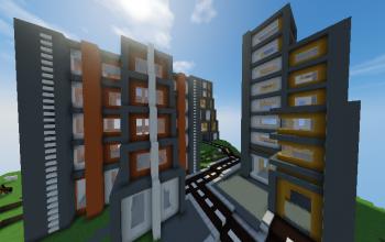 Immeubles Minimalistes/ Minimalist buildings