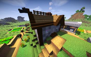 Custom villager house