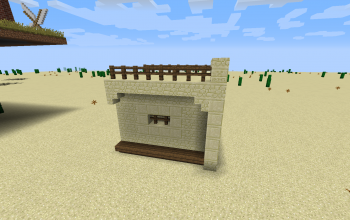 Desert Village Wall