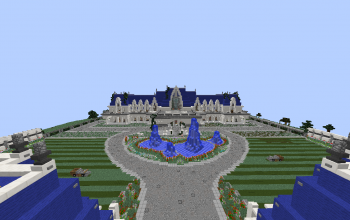 The Biggest House In The World In Minecraft minecraft miscellaneous creations - 12
