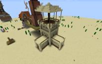 Desert Village Wall Tower