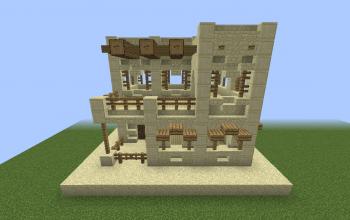 Small desert house #1