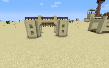 Desert Village Gate