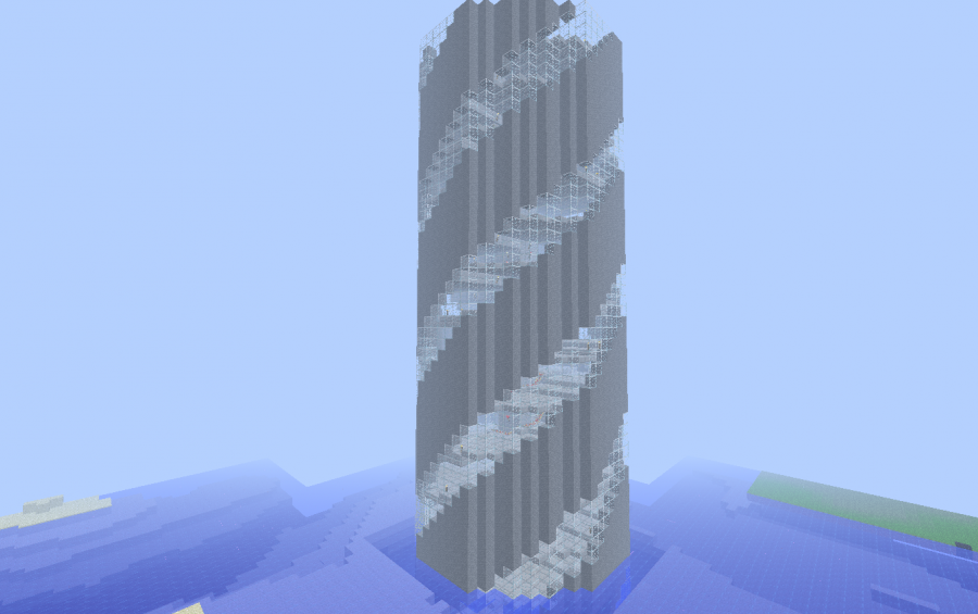 Spiral Tower Minecraft : Spiral tower creation
