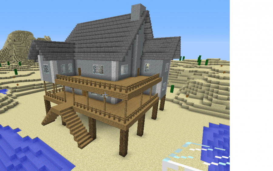 how to build a small house in minecraft