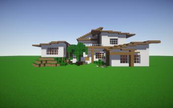 Big modern house by Cyriiil (unfurnished)