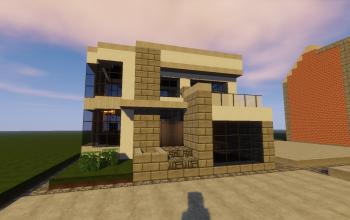 14x14 Modern Home