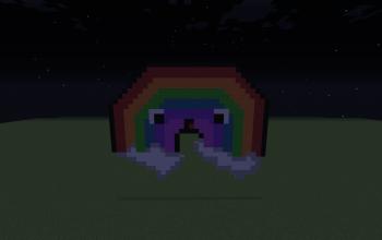 Rainbow Pixel Art