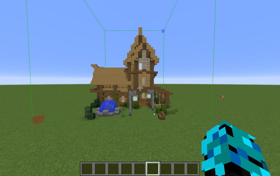 Minecraft Medieval Farmhouse Elegant Minecraft Medieval Farmhouse - Minecraft mittelalter haus schematic