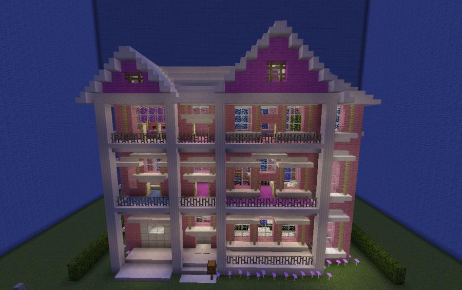 Barbie Dream House Modified Creation 9287