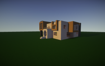Modern house #6 (unfurnished) by Cyriiil