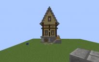 Casa medieval do fire