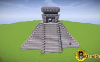 Maya temple