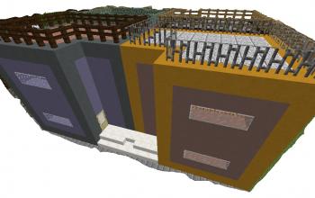 Small Unfurnished Quadruplex