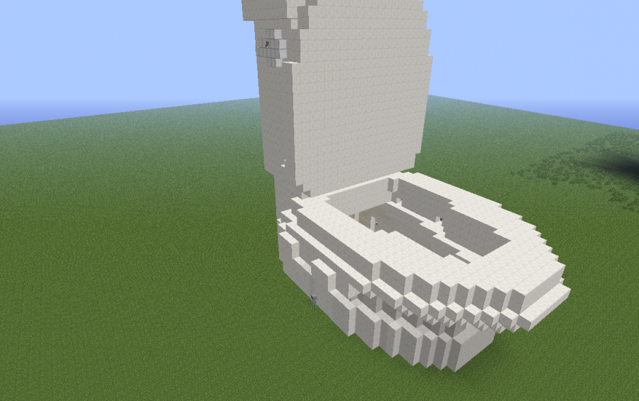 minecraft toilet. Flushable Toilet  By Cybersneeze creation 933