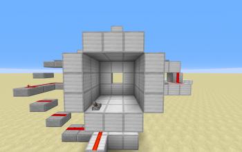 3by3 spiral piston door